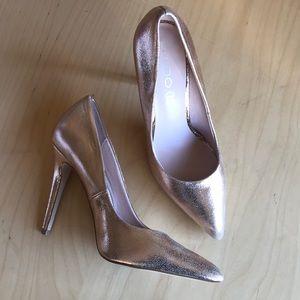 ALDO | Choewia Heel in Rose Gold